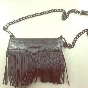 Rebecca Minkoff Phone Wallet Crossbody Fringe Bag!